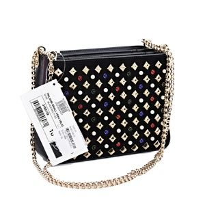 Christian Louboutin Bags - New Christian Louboutin Triloubi Small Spiked Bag